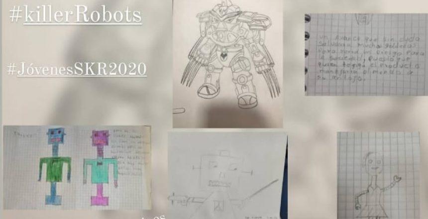 Collage robots evidencia